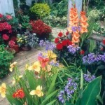 flowery home garden
