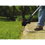 using weed eater for trimming garden pathways