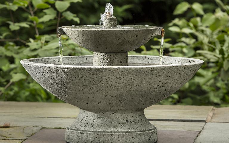 Hicks Nurseries - fountain